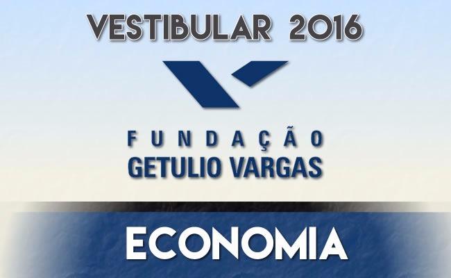 Vestibular para Economia FGV neste domingo