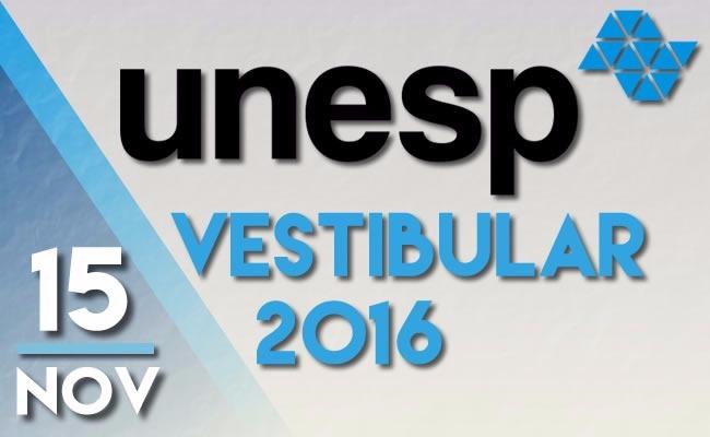 Vestibular Unesp 2016